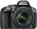 Nikon D5300 DSLR Camera - Grey, Body With AF-S 18-55 Mm VR Lens