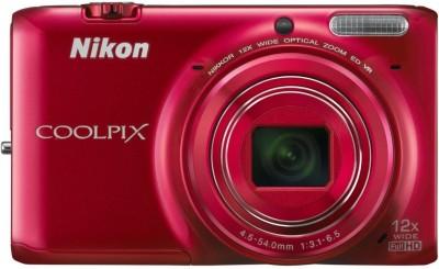 Nikon Coolpix S6500 Advanced Point & Shoot Camera