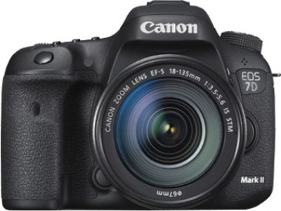 Canon EOS 7D Mark II (Kit with EF-S18-135 mm f3.5-5.6 IS STM) DSLR Camera
