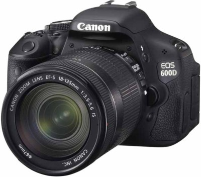 Canon EOS 600D SLR with Kit II EF S18-135mm IS Lens