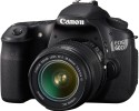 Canon EOS 60D DSLR Camera Black, Body with EF-S 18-55 mm Lens