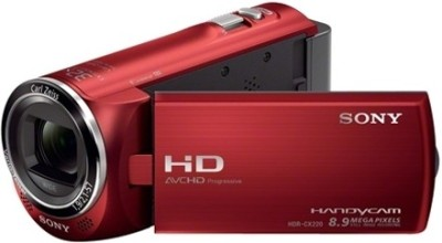 Sony HDR CX220E Camcorder Camera Red available at Flipkart for Rs.20699