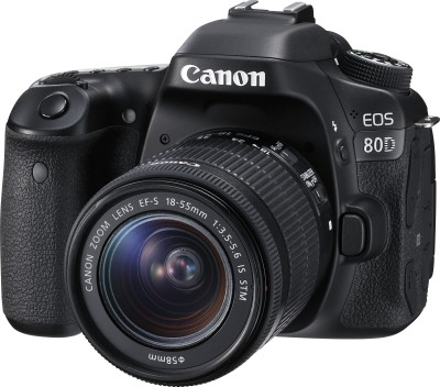 Canon EOS 80D DSLR (with 18 - 55mm IS STM Lens)