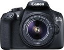 Canon EOS 1300D Kit (EF-S 18 - 55 IS II) DSLR Camera (Black)