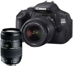 Canon EOS 600D (EF S18 55mm IS II Lens and Tamron AF 70 300mm F/4 5.6