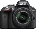 Nikon D3300 With AF-S 18-55 Mm VR Kit Lens With AF-S 18-55 Mm VR Kit L SLR - Black