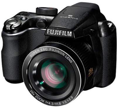 Fujifilm FinePix S3300 Point & Shoot Camera Black available at Flipkart for Rs.10800