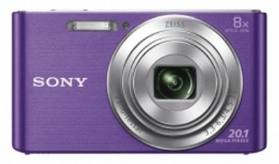 Sony Cyber-shot DSC-W830 Point & Shoot Camera(Violet)