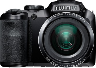 Fujifilm FinePix S4800 Advance Point and shoot Camera Black available at Flipkart for Rs.12450