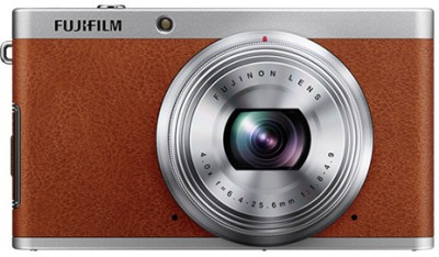 Fujifilm X F1 Point & Shoot Camera Brown available at Flipkart for Rs.14800