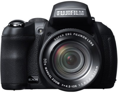 Fujifilm FinePix HS35EXR Advance Point and shoot Camera Black available at Flipkart for Rs.22999
