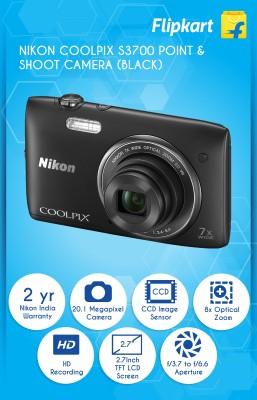 Nikon Coolpix S3700 Digital Camera