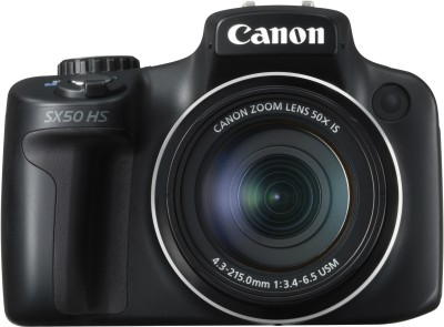 Canon PowerShot SX50 HS Point & Shoot Camera available at Flipkart for Rs.22240
