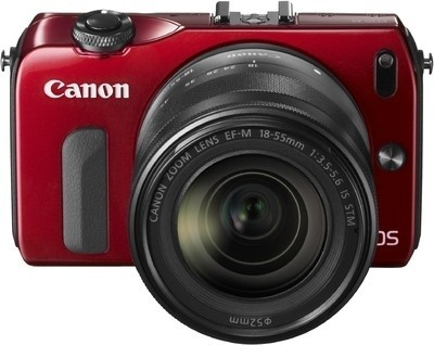 Canon EOS-M with 18-55mm  Lens + 8GB Card + Bag Rs.  19047 – FlipKart