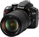 Nikon D3200 (Body With AF-S 18-140 Mm VR Kit Lens) DSLR Camera (Black)