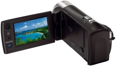 Sony HDR-PJ240E/B with Projector Full HD Camcorder Camera Black