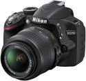 Nikon D3200 (Body with AF-S DX NIKKOR 18-55mm f/3.5-5.6G VR II Lens) DSLR Camera