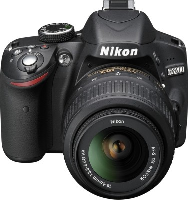 Nikon D3200 SLR at Rs 28680 from Flipkart India - Extra 12% Off
