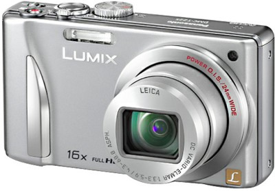 Panasonic Lumix DMC-TZ25 Point & Shoot Camera(Silver)