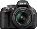 Nikon D5200 SLR - Black, With AF-S 18-55 Mm VR Kit Lens