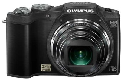 Olympus SZ 31 MR Point & Shoot Camera Black available at Flipkart for Rs.19950