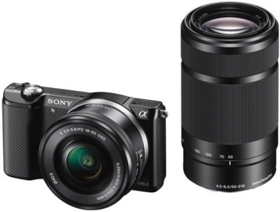 Sony-ILCE-5000Y-Camera-(with-SELP1650-&-SEL55210-Lens-)