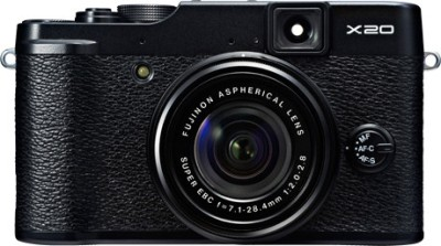 Fujifilm FinePix X20 Mirrorless Camera Black available at Flipkart for Rs.37445