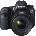 Canon EOS 6D Kit II (EF 24-70 F4L IS USM) DSLR Camera (Black)