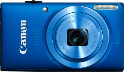 Canon IXUS 132 Advanced Point & Shoot Camera Blue available at Flipkart for Rs.7324