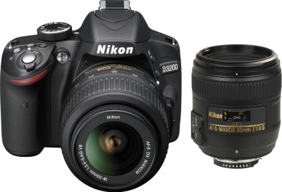 Nikon D3200 (with AF-S 18-55 mm VR Kit + AF-S NIKKOR 50 mm DSLR)