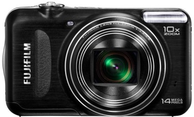 Fujifilm FinePix T200 Point & Shoot Camera Black available at Flipkart for Rs.6950