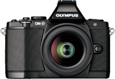 Olympus OMD EM5 Mirrorless Camera Black, Body with 10 50 mm Lens available at Flipkart for Rs.66590