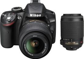 Nikon D3200 (with AF-S 18-55mm VRII + 55-200mm f/4-5.6G Lens Kit)