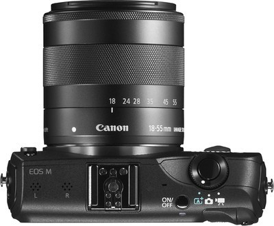 Canon EOS-M Mirrorless Camera at Rs 20995 - Compact DSLR From Flipkart