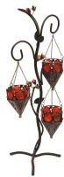 AsAura Iron 3 - Cup Tealight Holder (Black, Pack Of 3)
