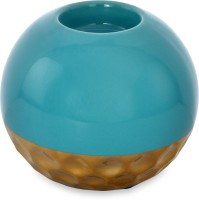 @home Enchanted First Ceramic Candle Holder (Multicolor, Pack Of 1)