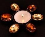 Indigo Creatives Indigo Creatives Iron Candle Holder