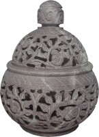 Avinash Handicrafts Stoneware 1 - Cup Candle Holder (Multicolor, Pack Of 1)