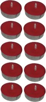 Atorakushon Scented Smokeless Tealight Candles Pack Of 40 Candle (Red, Pack Of 40)