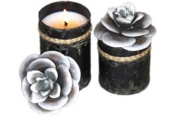 Bali Mantra Camellia Flower Lid 9oz Candle