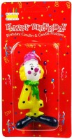 The Candle Shop Birthday Candle (Multicolor, Pack Of 1)