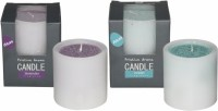 DECO Aro Pristine Aroma Candle (Pink, Green, Pack Of 2)