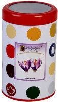 Artistique 13 Oz Round Tin Fragrance (Lavender) Candle (Purple, Pack Of 1)