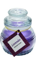 Aroma India New MSC Jar Candle (Purple, Pack Of 1)