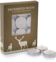 Sixthsense Tealight Candle (White, Pack Of 24)