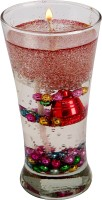 Aadhya Creations Color Beads Gel Candle (Multicolor, Pack Of 1)