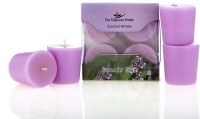 Fresh Accent Voitve Candle (Purple, Pack Of 6)