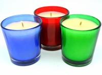 Mysore Scents Votive Set - Rose, Jasmine, Lavender Candle (Multicolor, Pack Of 3)