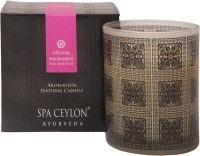 Spa Ceylon Luxury Ayurveda Pink Grapefruit Home Aroma Blend Natural Candle (Black, Pack Of 1)