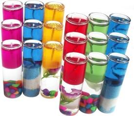 Shadowfax Pencil Look 8cm Multicolor Candle